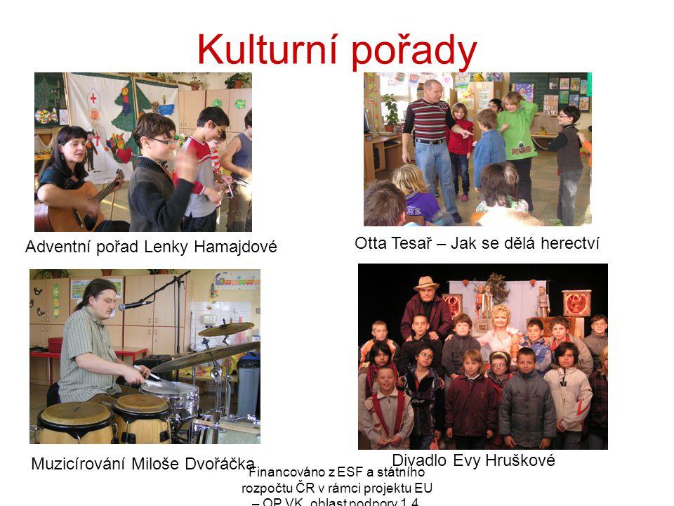Kulturní pořady Otta Tesař – Jak se dělá herectví