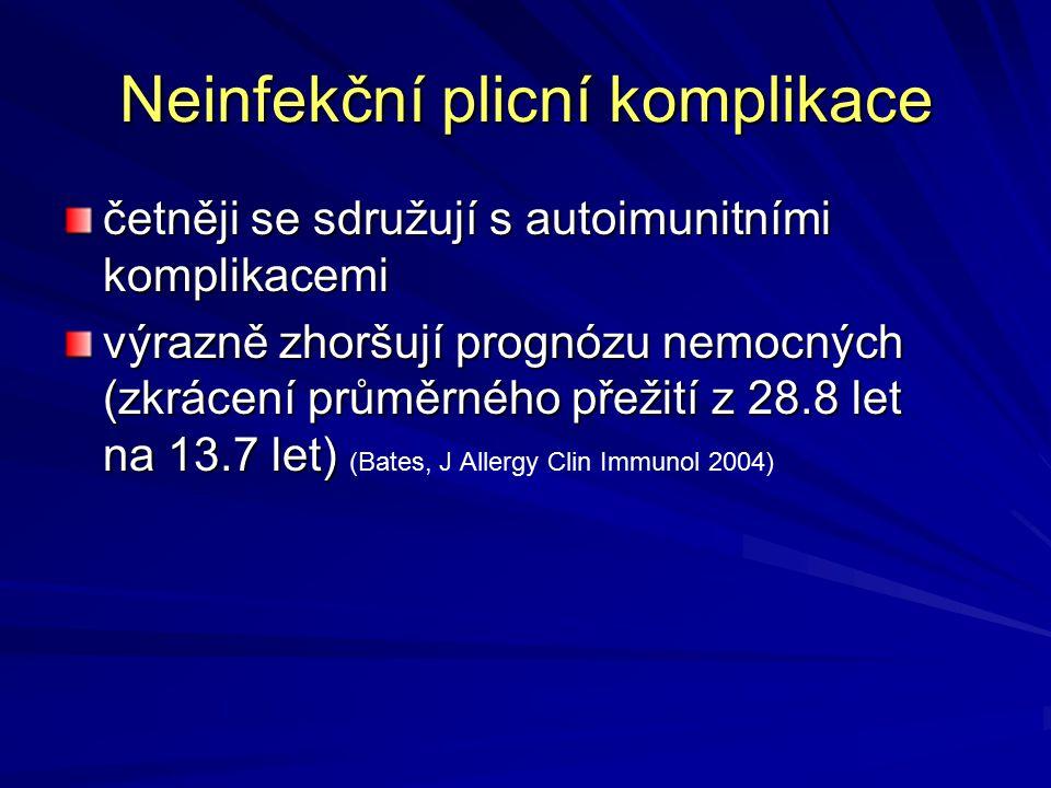 Neinfekční plicní komplikace