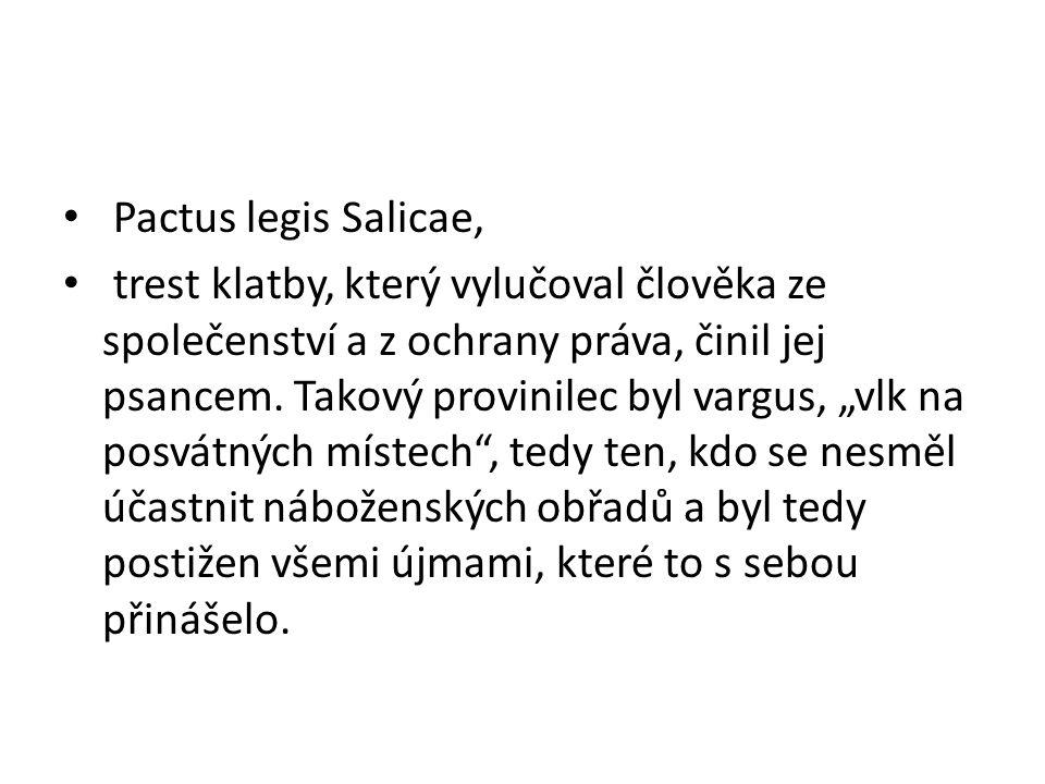 Pactus legis Salicae,