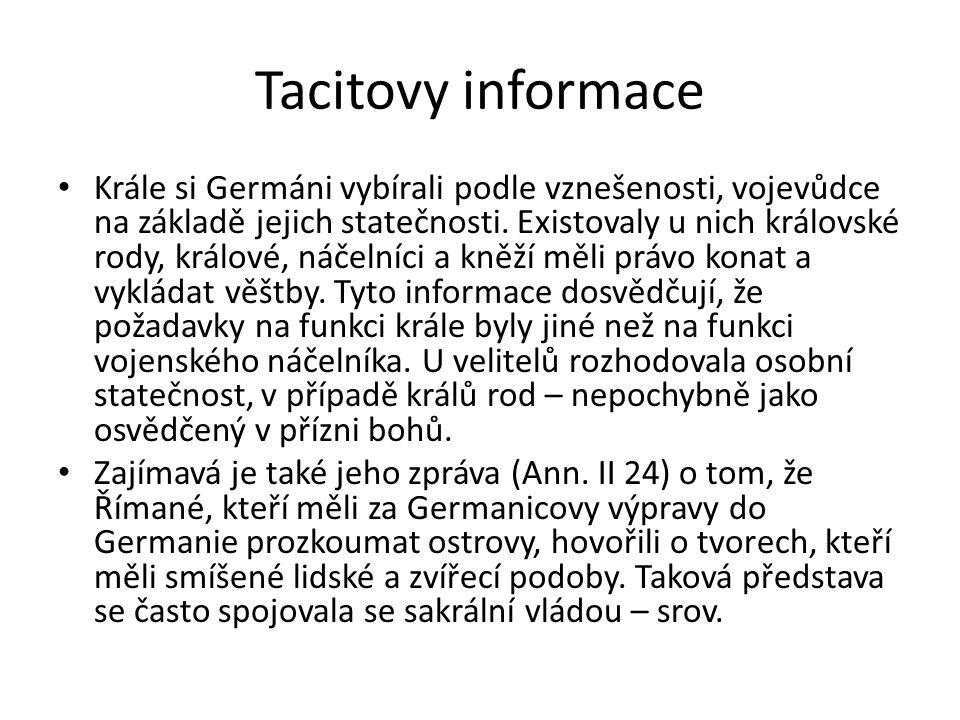Tacitovy informace