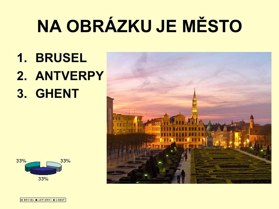 NA OBRÁZKU JE MĚSTO BRUSEL ANTVERPY GHENT