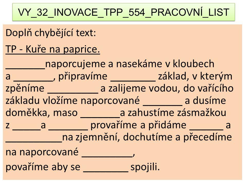 VY_32_INOVACE_TPP_554_PRACOVNÍ_LIST