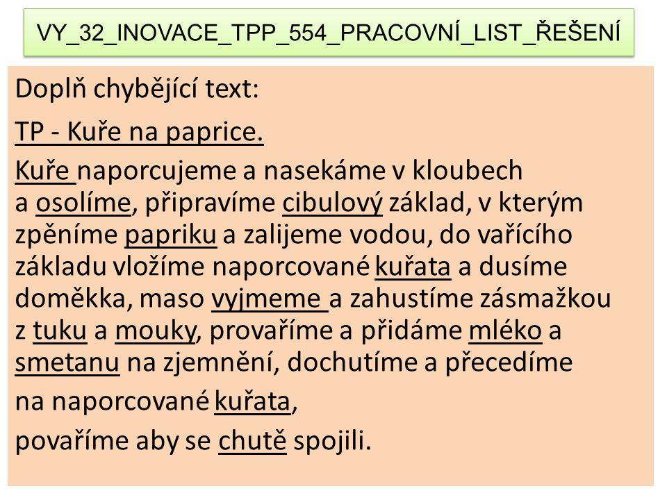 VY_32_INOVACE_TPP_554_PRACOVNÍ_LIST_ŘEŠENÍ