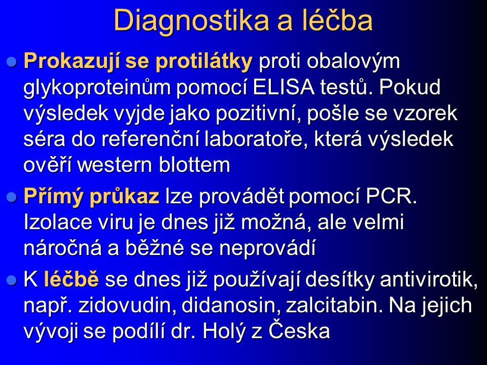 Diagnostika a léčba