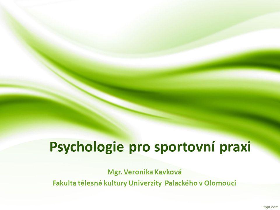 Psychologie pro sportovní praxi