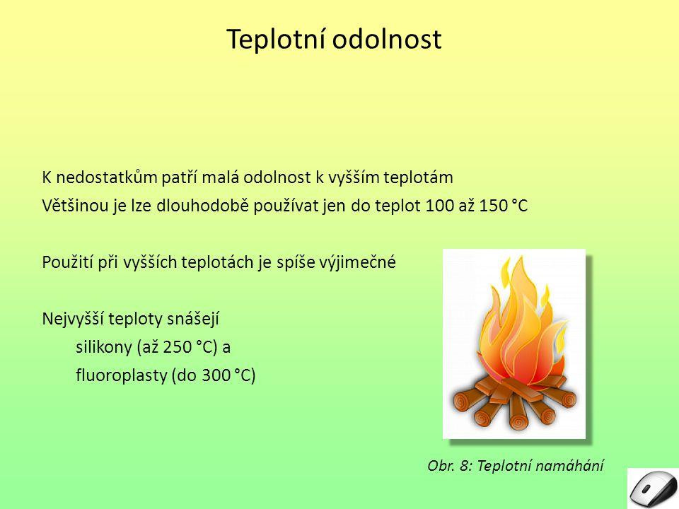 Obr. 8: Teplotní namáhání