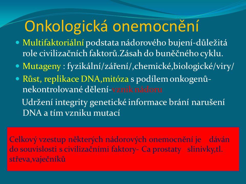 Onkologická onemocnění