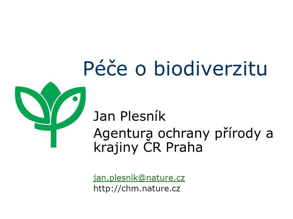 Péče o biodiverzitu Jan Plesník