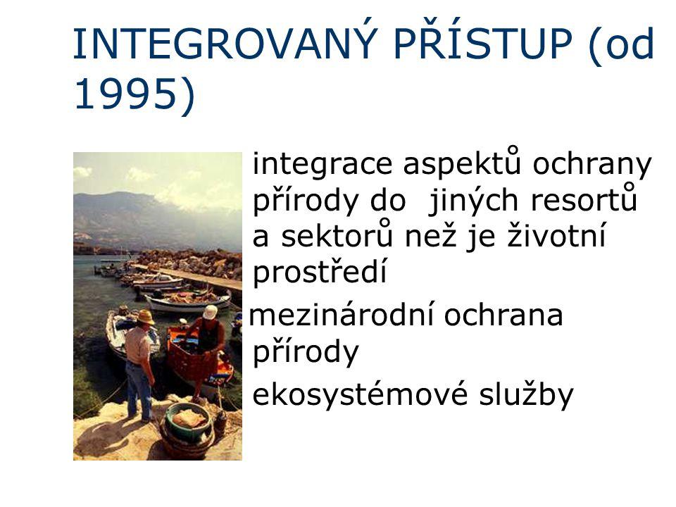 INTEGROVANÝ PŘÍSTUP (od 1995)