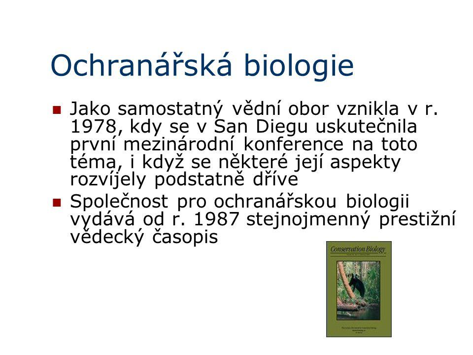 Ochranářská biologie