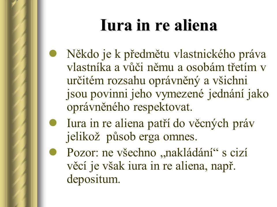 Iura in re aliena