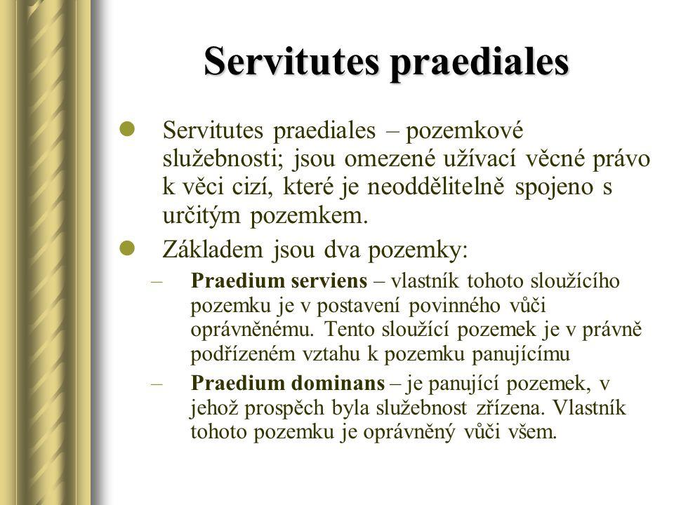 Servitutes praediales