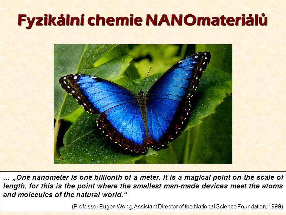 Fyzikální chemie NANOmateriálů