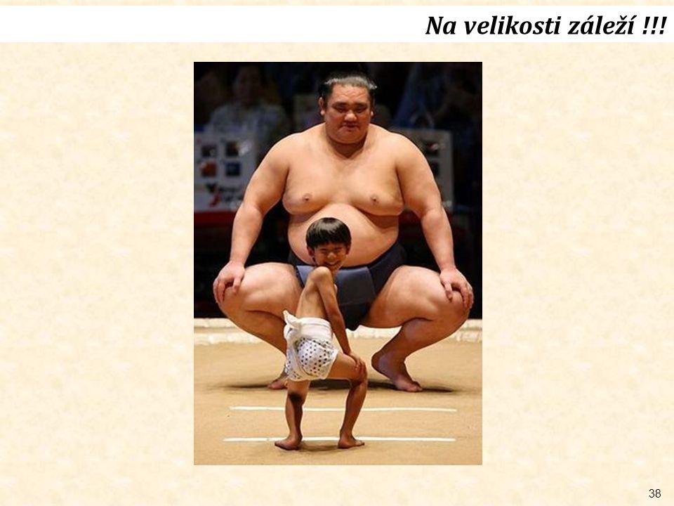 Na velikosti záleží !!!