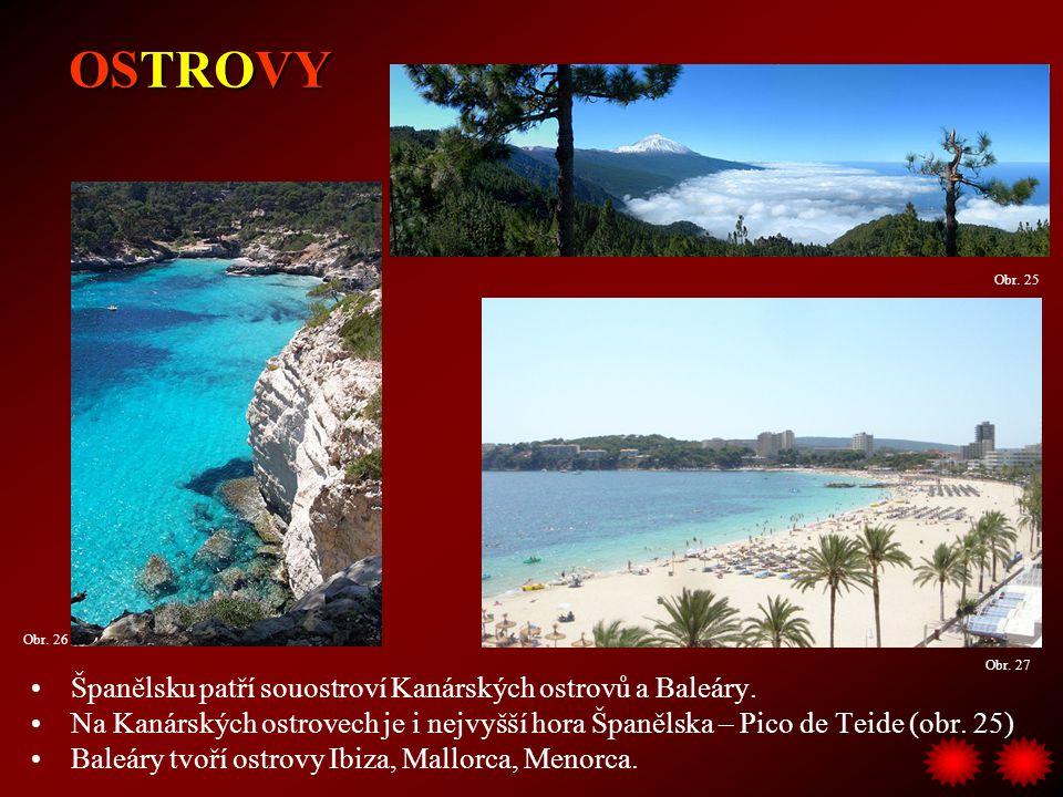 OSTROVY Španělsku patří souostroví Kanárských ostrovů a Baleáry.