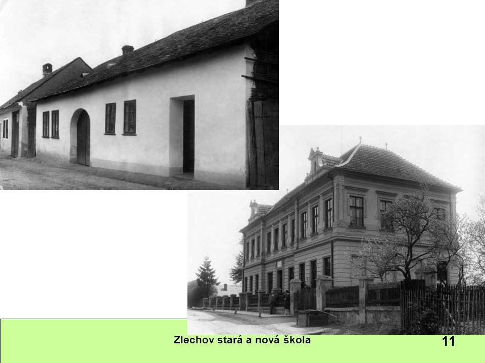 Zlechov stará a nová škola