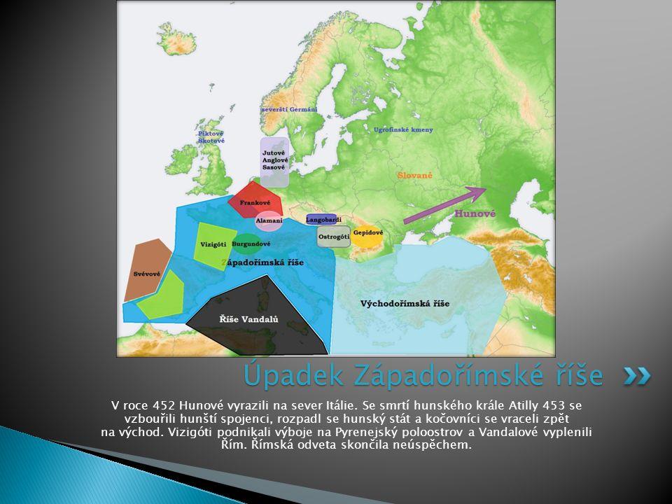 Úpadek Západořímské říše