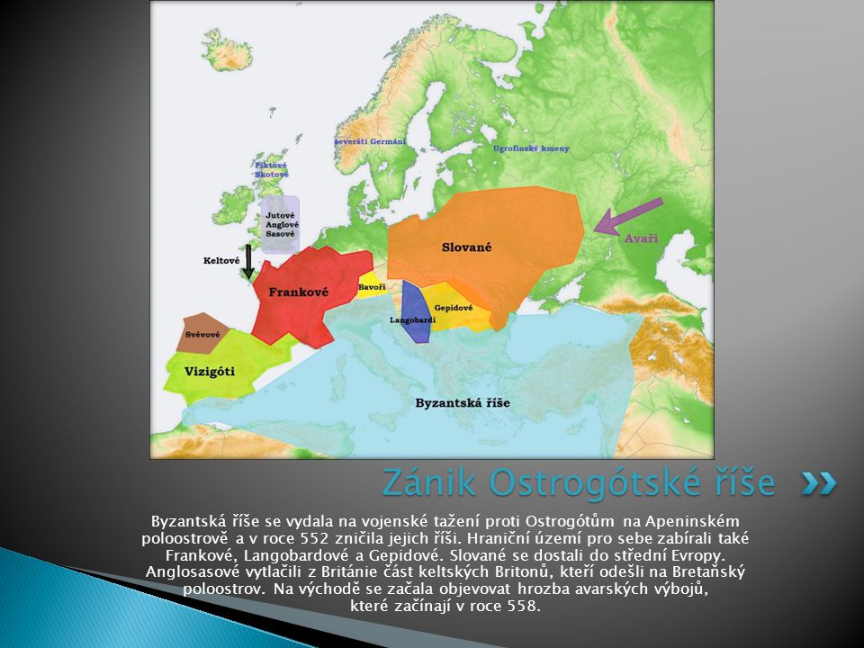 Zánik Ostrogótské říše