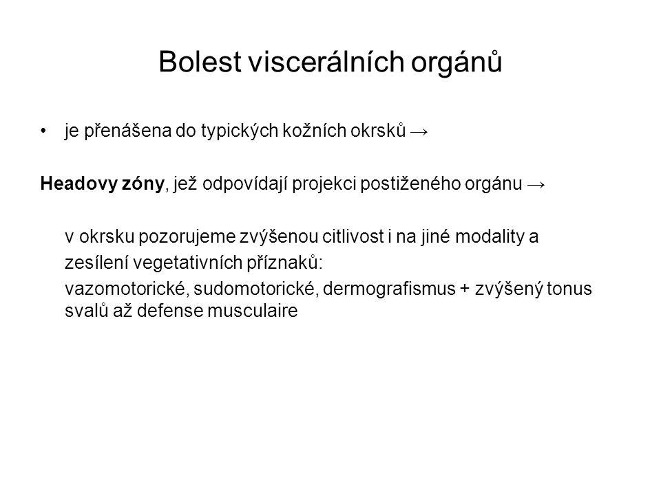 Bolest viscerálních orgánů