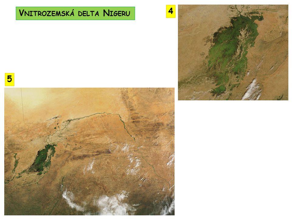 4 Vnitrozemská delta Nigeru 5