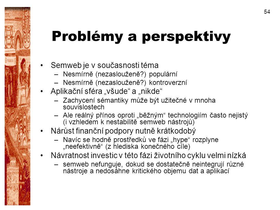 Problémy a perspektivy