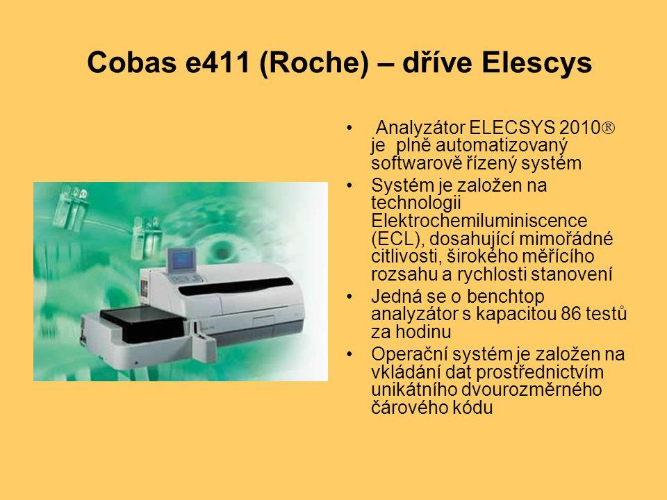 Cobas e411 (Roche) – dříve Elescys