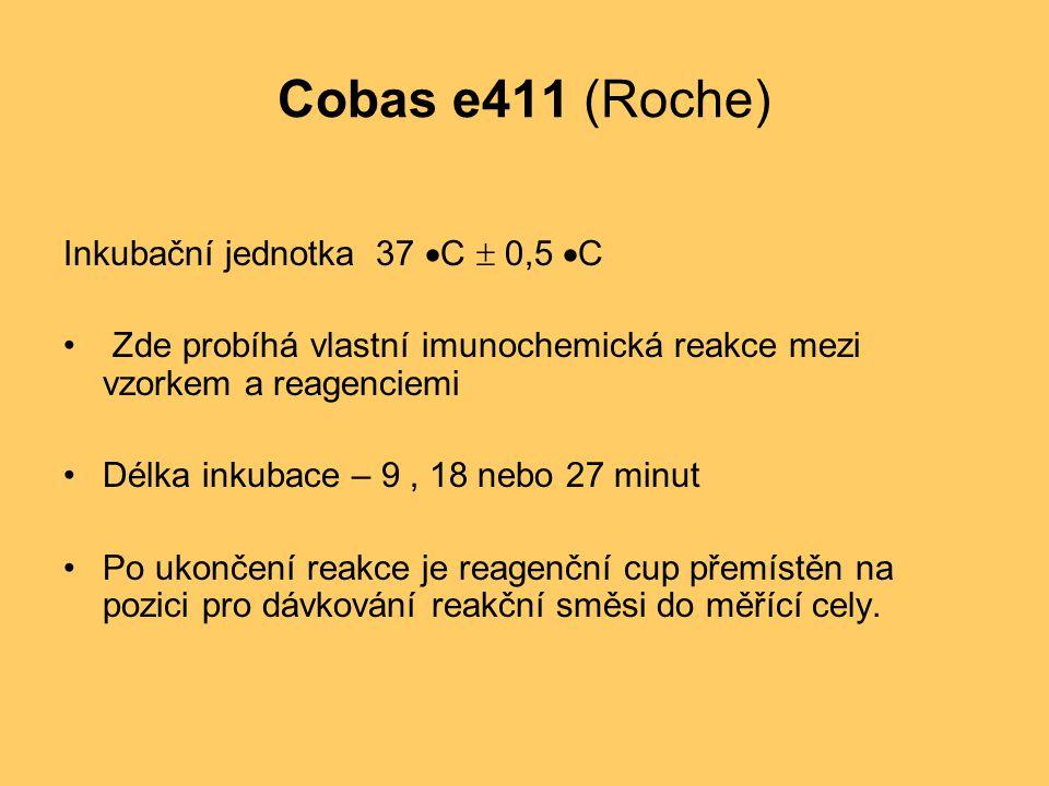 Cobas e411 (Roche) Inkubační jednotka 37 C  0,5 C
