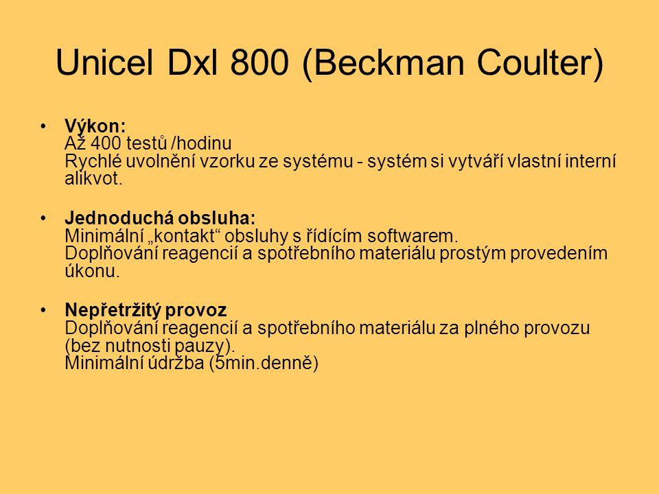 Unicel Dxl 800 (Beckman Coulter)