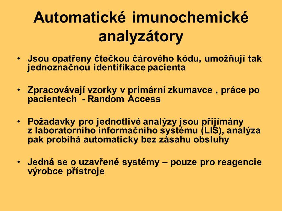 Automatické imunochemické analyzátory