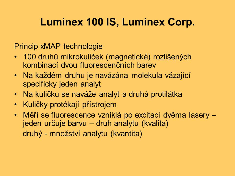Luminex 100 IS, Luminex Corp.