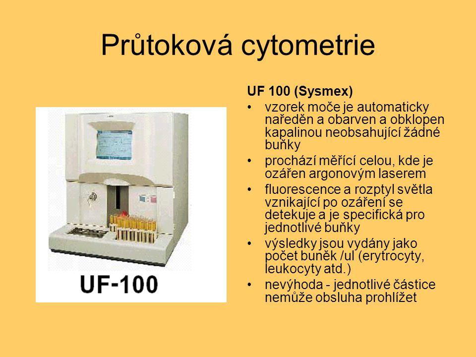 Průtoková cytometrie UF 100 (Sysmex)