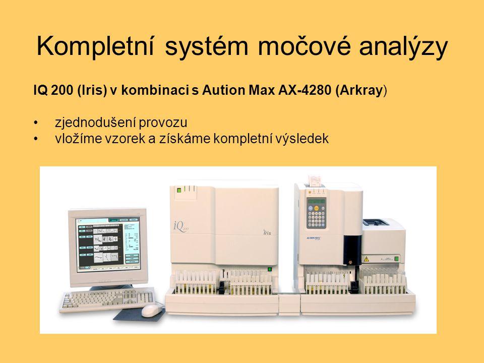 Kompletní systém močové analýzy