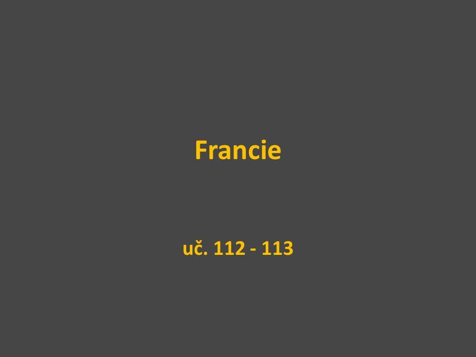 Francie uč. 112 - 113