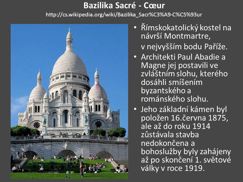 Bazilika Sacré - Cœur http://cs. wikipedia