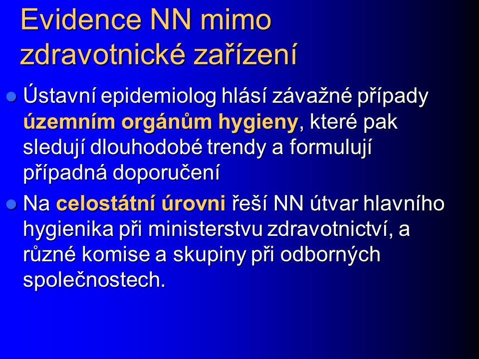 Evidence NN mimo zdravotnické zařízení