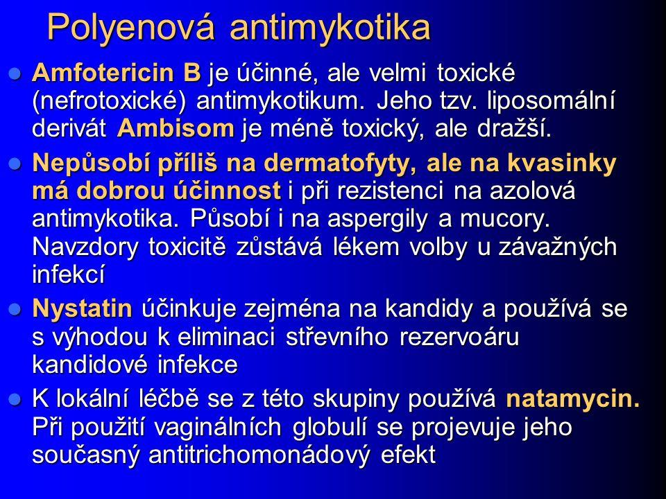 Polyenová antimykotika