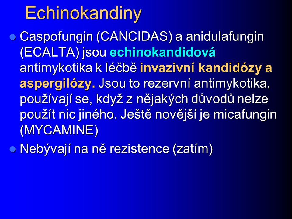 Echinokandiny