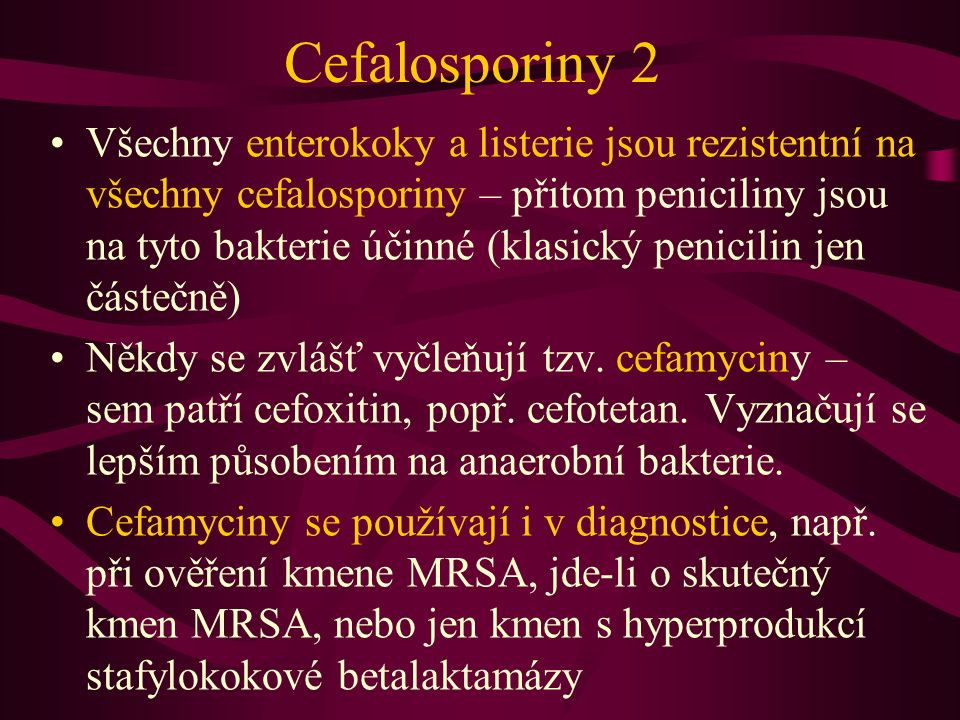 Cefalosporiny 2