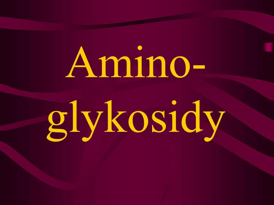 Amino- glykosidy