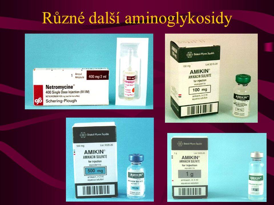 Různé další aminoglykosidy