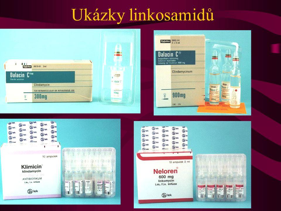 Ukázky linkosamidů