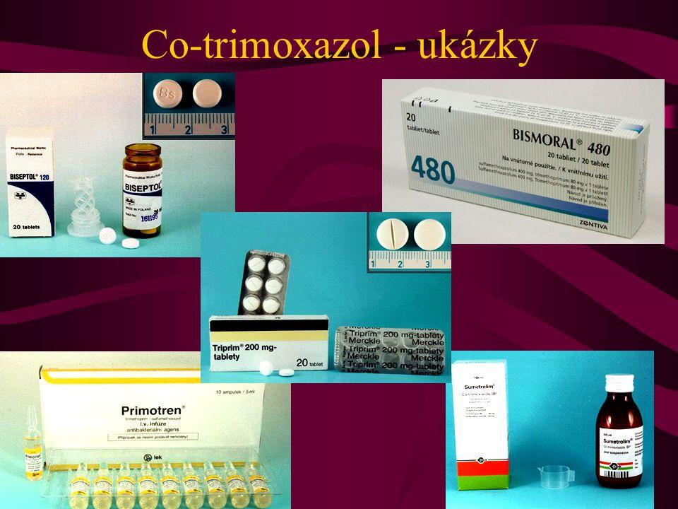 Co-trimoxazol - ukázky