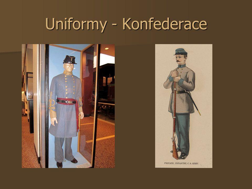 Uniformy - Konfederace