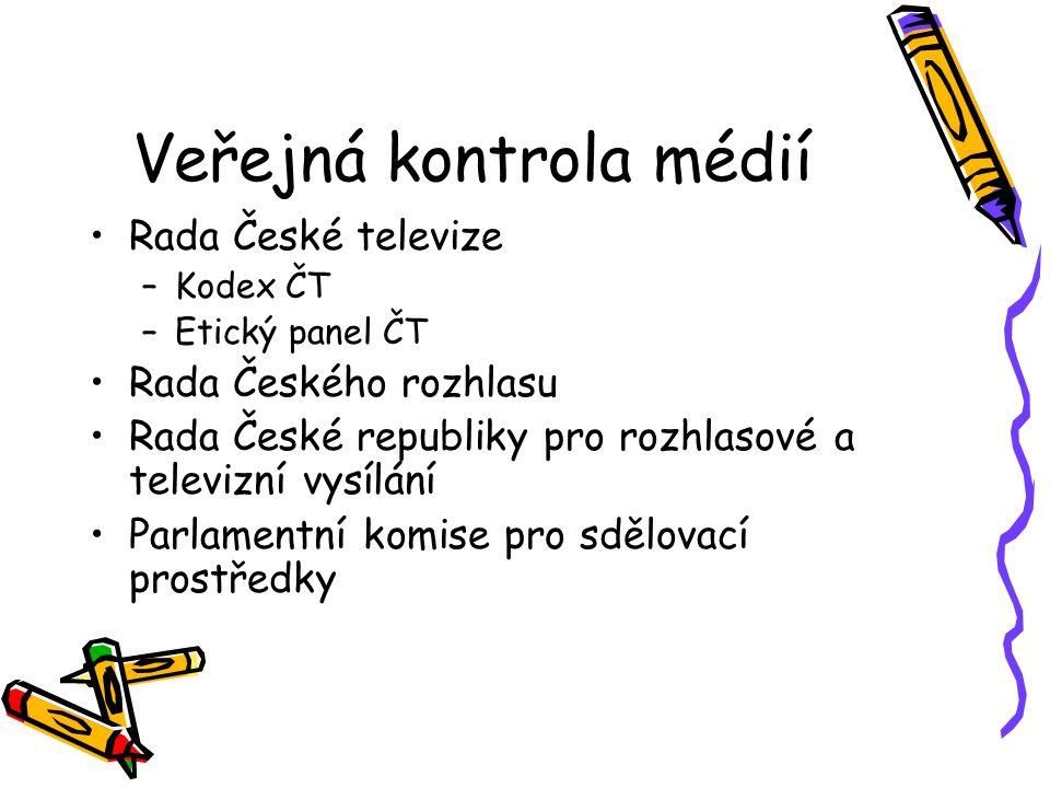 Veřejná kontrola médií
