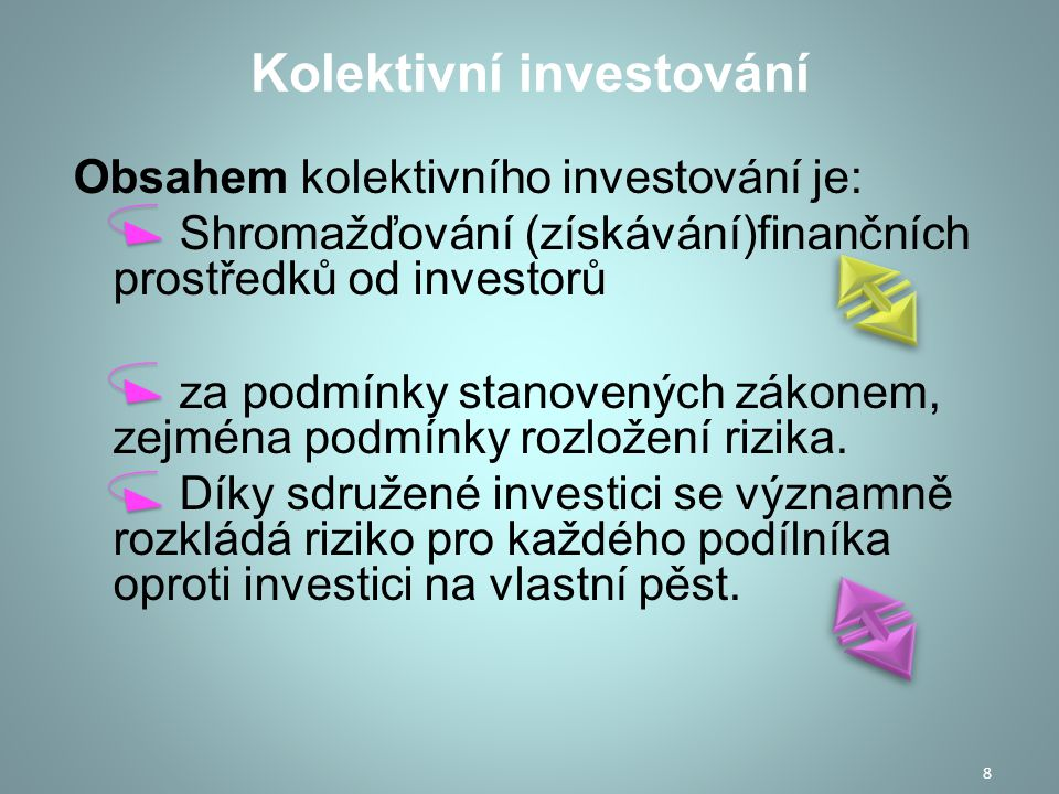 Kolektivní investování