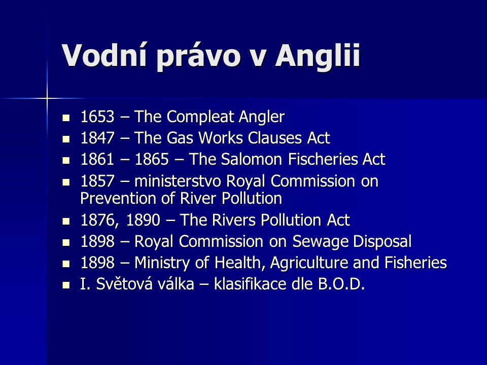 Vodní právo v Anglii 1653 – The Compleat Angler