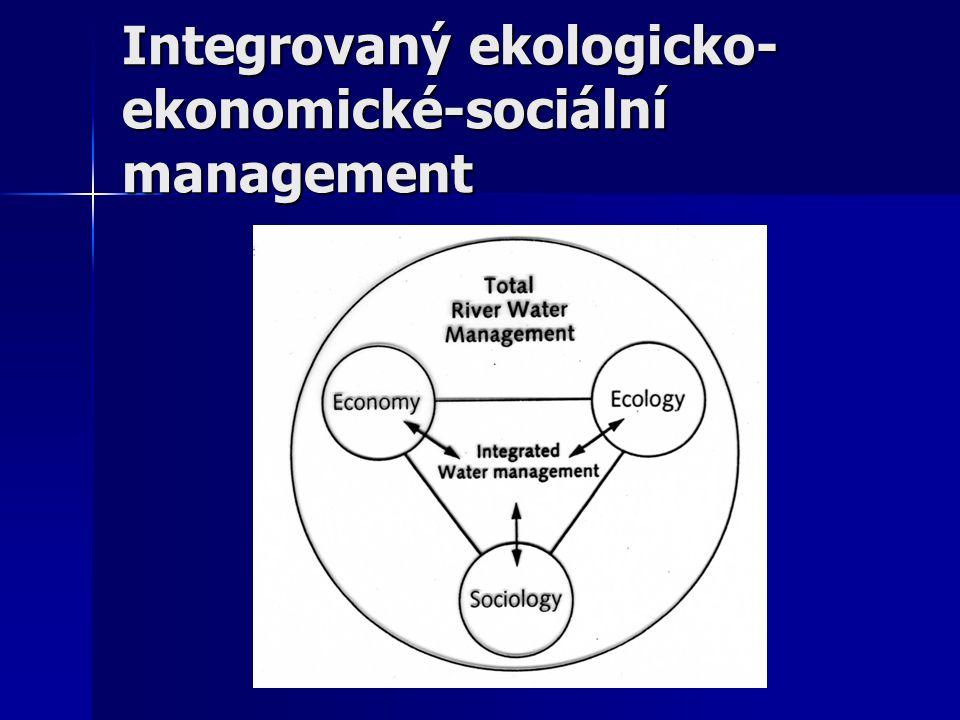 Integrovaný ekologicko-ekonomické-sociální management