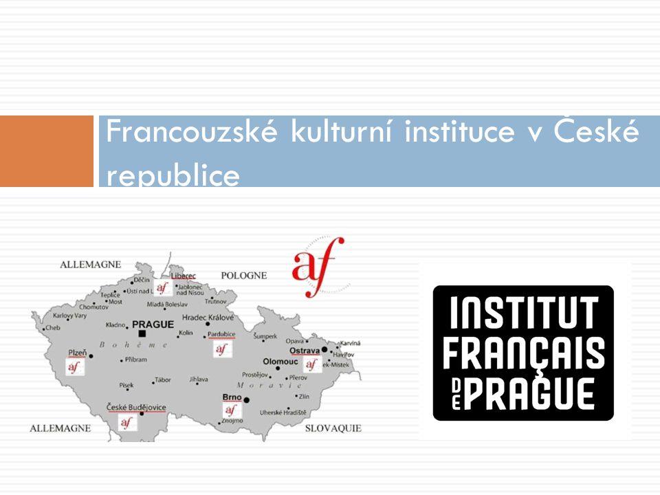 Francouzské kulturní instituce v České republice