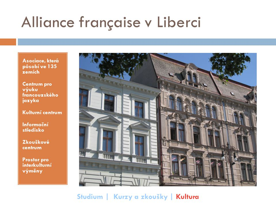 Alliance française v Liberci