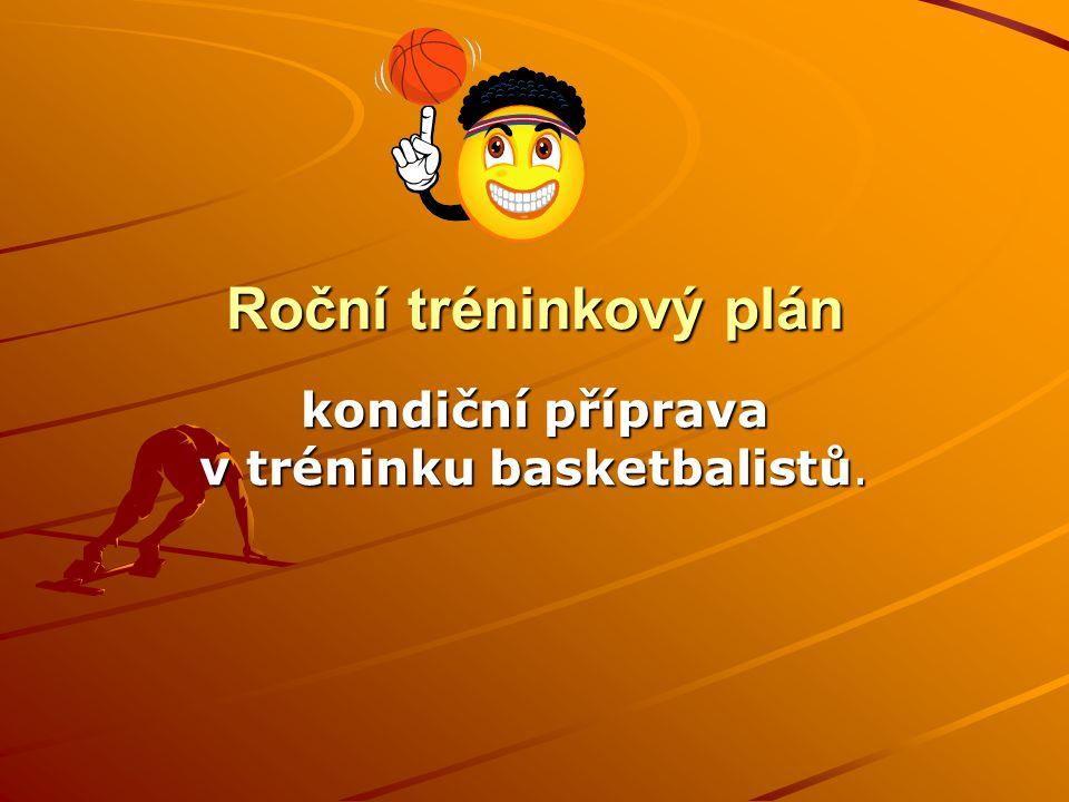 kondiční příprava v tréninku basketbalistů.